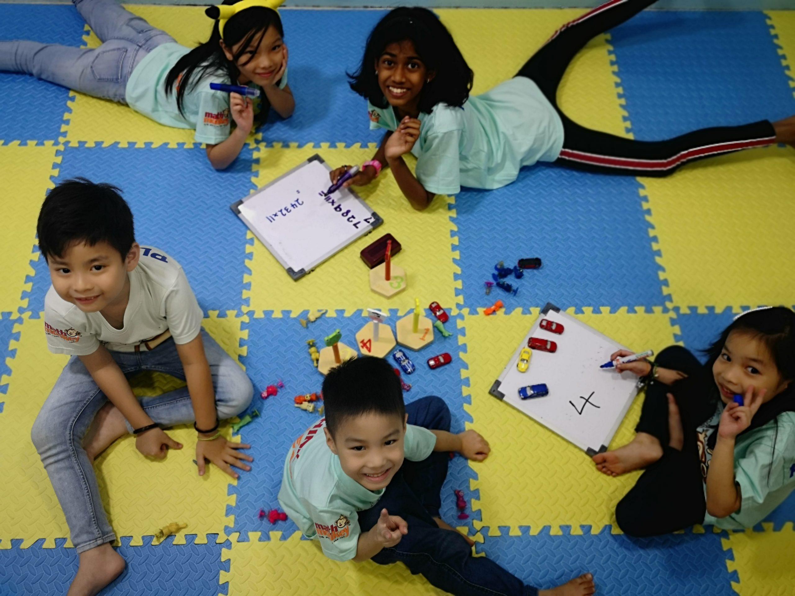 learning math through play